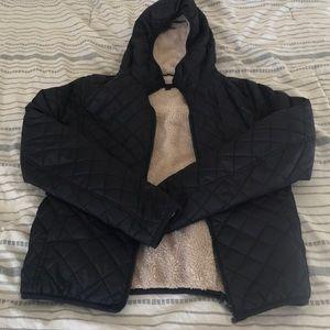 Uniqlo Fleece lined hooded Jacket